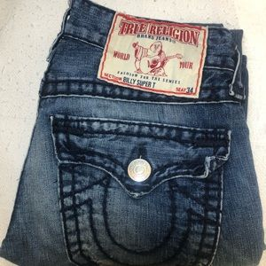 Men's True religion jeans Billy super T SZ 30